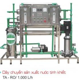 Hệ thống lọc nước tinh khiết OTB S1000i (1.000 lít / giờ)