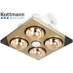 Đèn sưởi nhà tắm Kottmann 4 bóng K4B-T