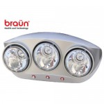 The Bathing Water Lights Braun 3 balls
