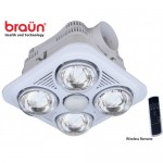 The Bathing Water Lights Braun 4 Balls Have Control