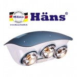 The Hans Heating Lamp 3 bath ball