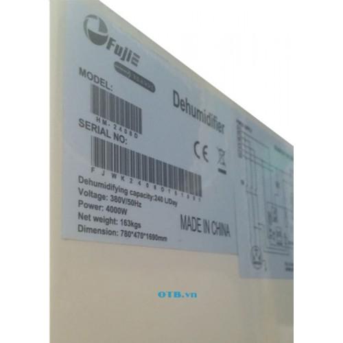 Tem thông số kỹ thuật của Fujie HM-2408D