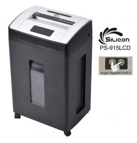 Máy hủy tài liệu Silicon PS-915LCD (15 tờ)
