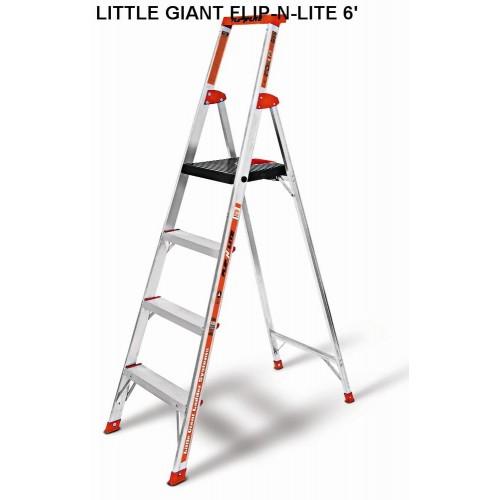 Thang ghế Little Giant Flip-N-Lite 6 (04 bậc)