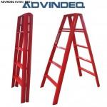 Thang nhôm chữ A Đài Loan 10 bậc ADVINDEQ AV305 ( Red )