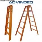 Thang nhôm chữ A Đài Loan 12 bậc ADVINDEQ AV306 ( Orange )