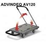 Xe đẩy hàng Advindeq AV120 (120kg)