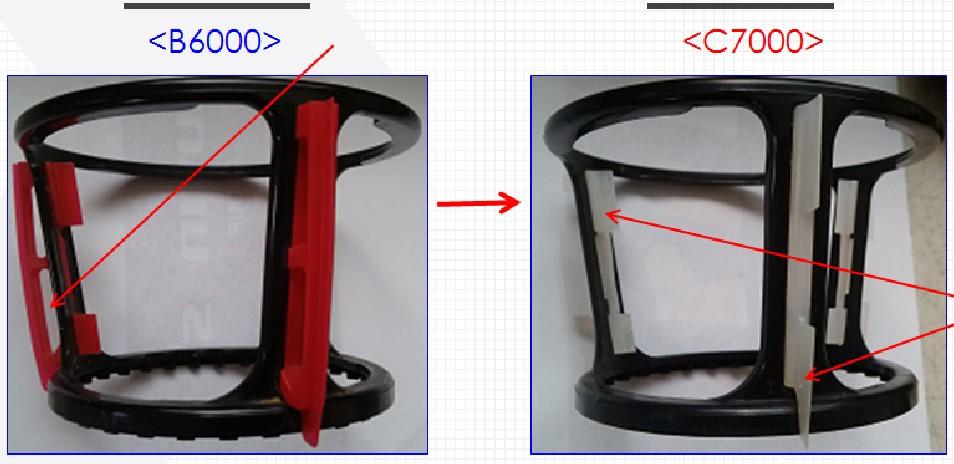 So sánh bộ gạt nước giữa KuvingsC7000 và B6000