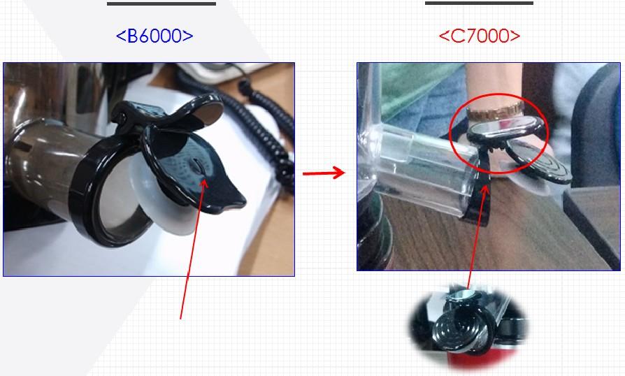 Cải tiến lắp thông minh hơn Kuvings C7000 và B6000
