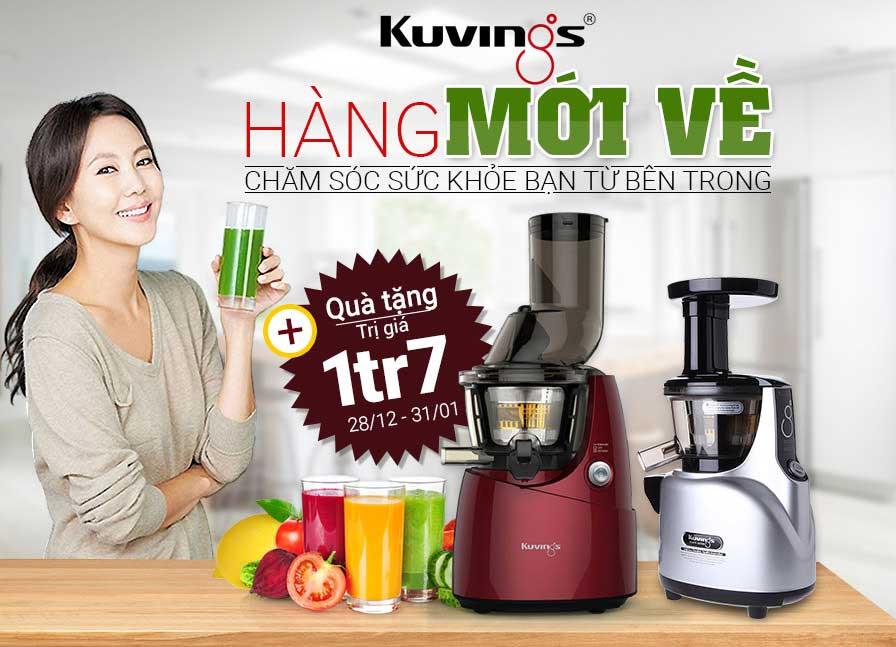 Hình ảnh của máy ép trái cây Kuvings ns668r hàng mới về
