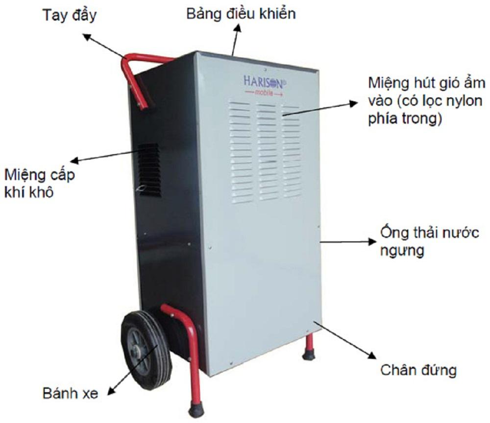 Máy hút ẩm Harison HD-100BM ( 100 lít / 24h )