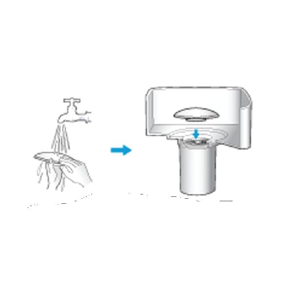 Hướng dẫn vệ sinh lõi lọc gốm noes
