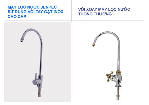 Vòi máy lọc nước Jenpec bằng inox cao cấp