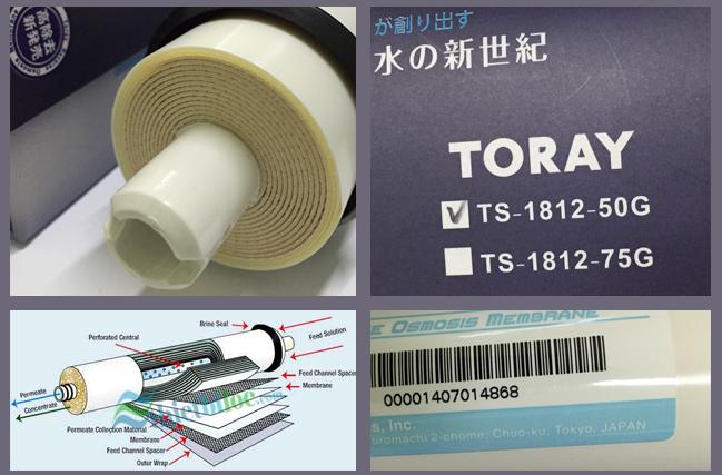 màng Lọc RO JENPEC - TORAY được sản xuất tại Nhật Bản